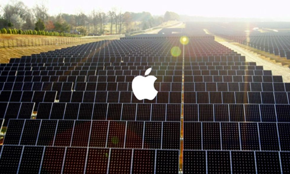 Apple's Commitment to Run All Data Centers on 100% Renewable Energy Continues With New Announcement