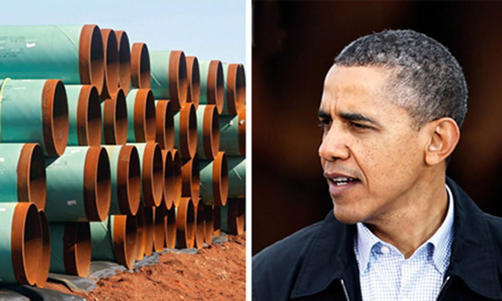 Keystone XL Bill Heads to Obama's Desk Today, Pipeline Opponents Urge a Veto