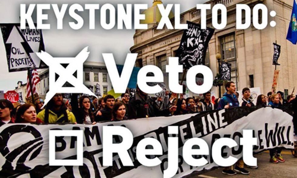 President Obama Vetoes Keystone XL Pipeline Bill