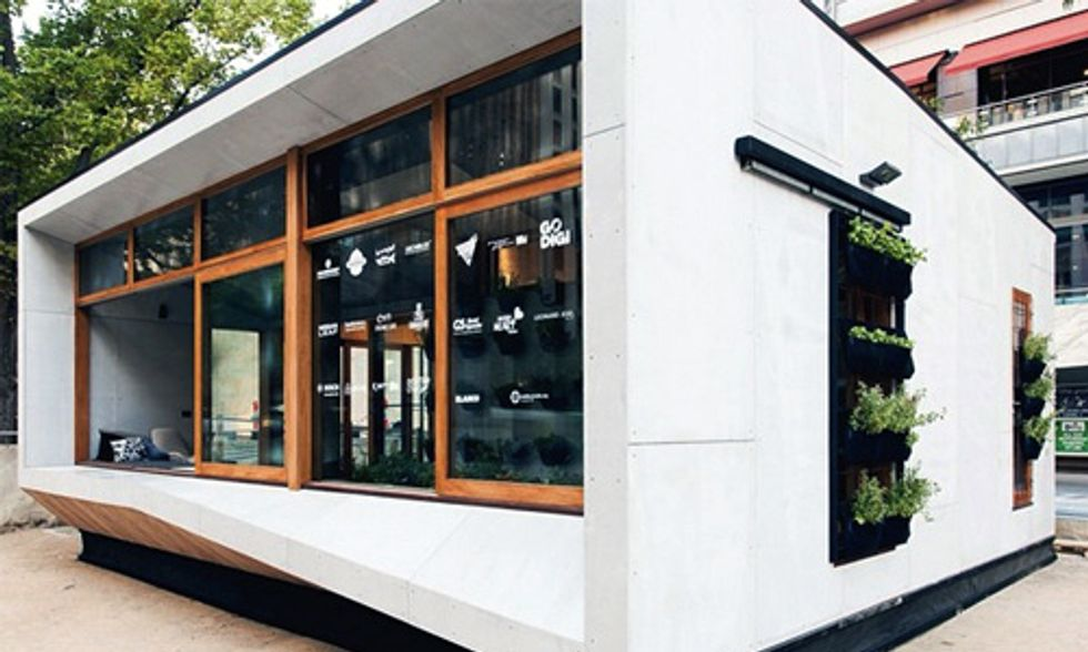 World's First Carbon-Positive Prefab Home Hits the Market