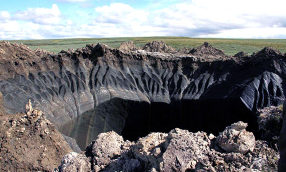 Huge New Methane Blowholes in Siberia Have Scientists Worried Climate Change Is to Blame