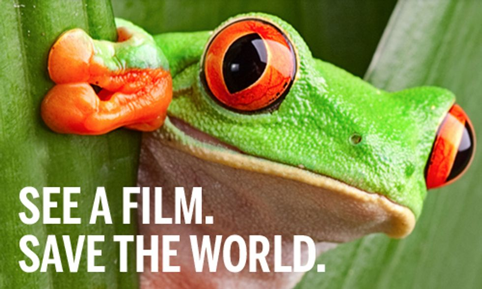 See a Film. Save the World.
