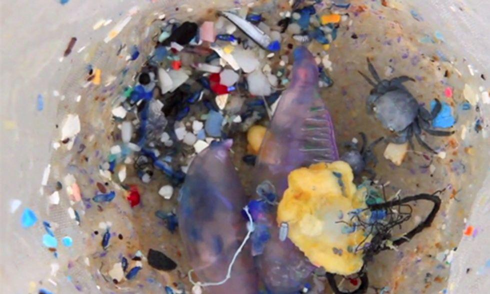 Plastic Smog: Microplastics Invade Our Oceans