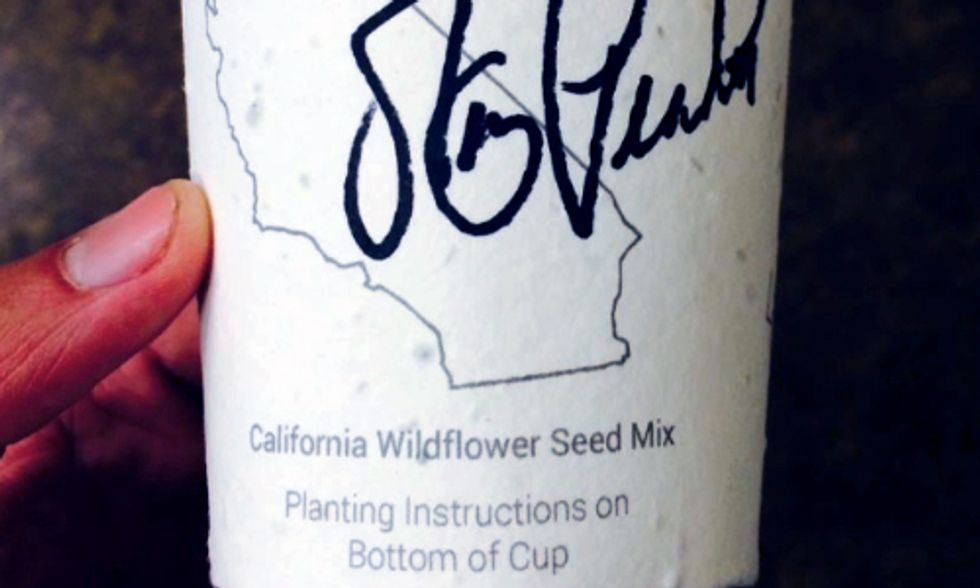 World's First Plantable Coffee Cup to Replenish Forests