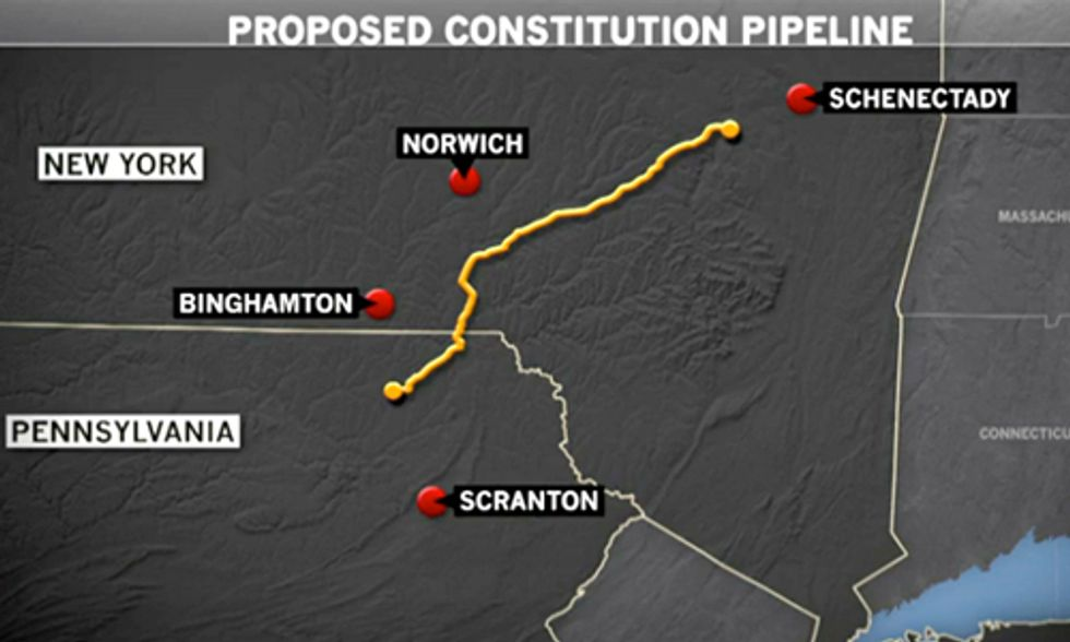 Constitution Pipeline: 'The Keystone Pipeline of Natural Gas'
