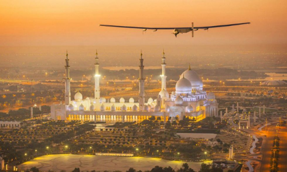 Solar-Powered Airplane Prepares for Groundbreaking Around-the-World Flight