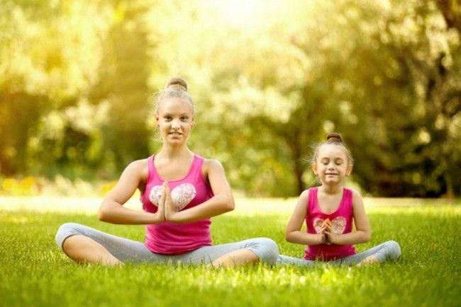 More Kids Are Doing Yoga and Using Natural Remedies Like