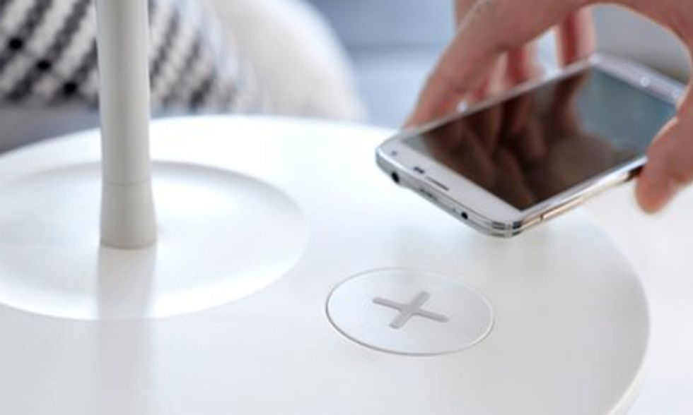 IKEA's New Furniture Can Charge Your Phone Wirelessly