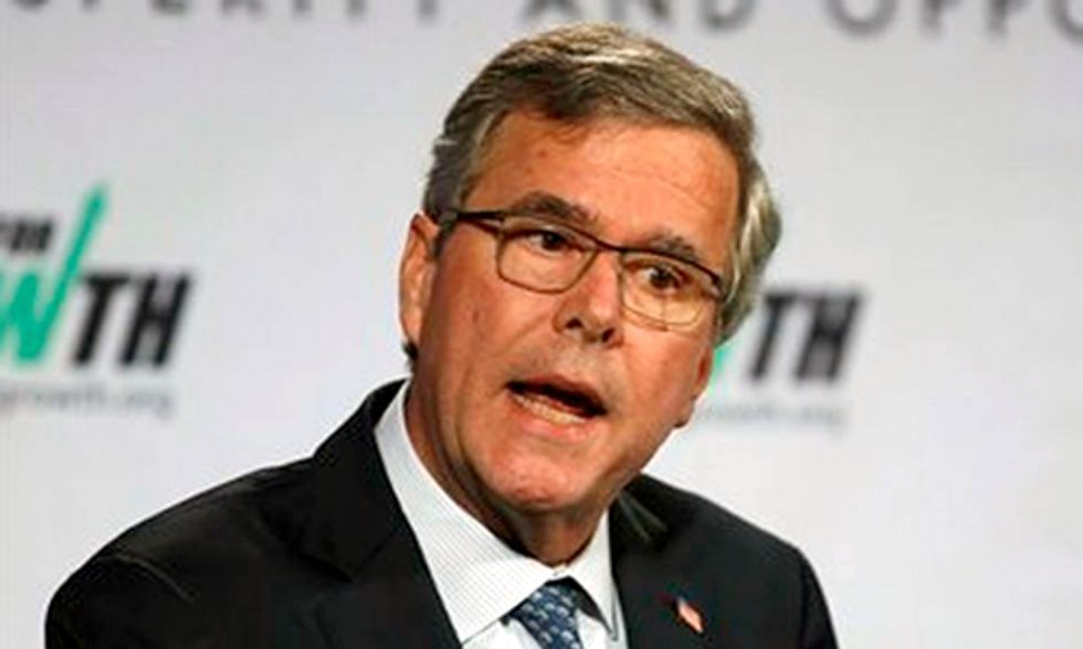 Jeb Bush Trashes Father's Clean Air Legacy to Woo Far Right-Wing