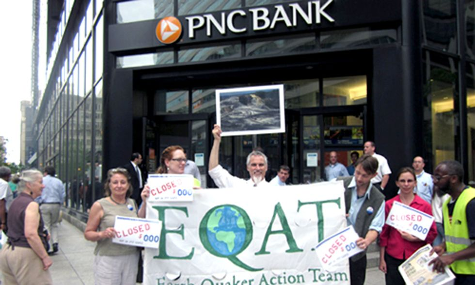 PNC Bank Will Cease Investments in Mountaintop Removal Coal Mining