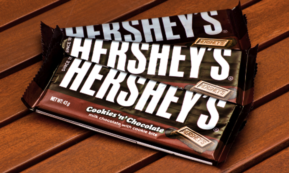 Hershey's Most Popular Chocolates Will Go GMO-Free by End of the Year