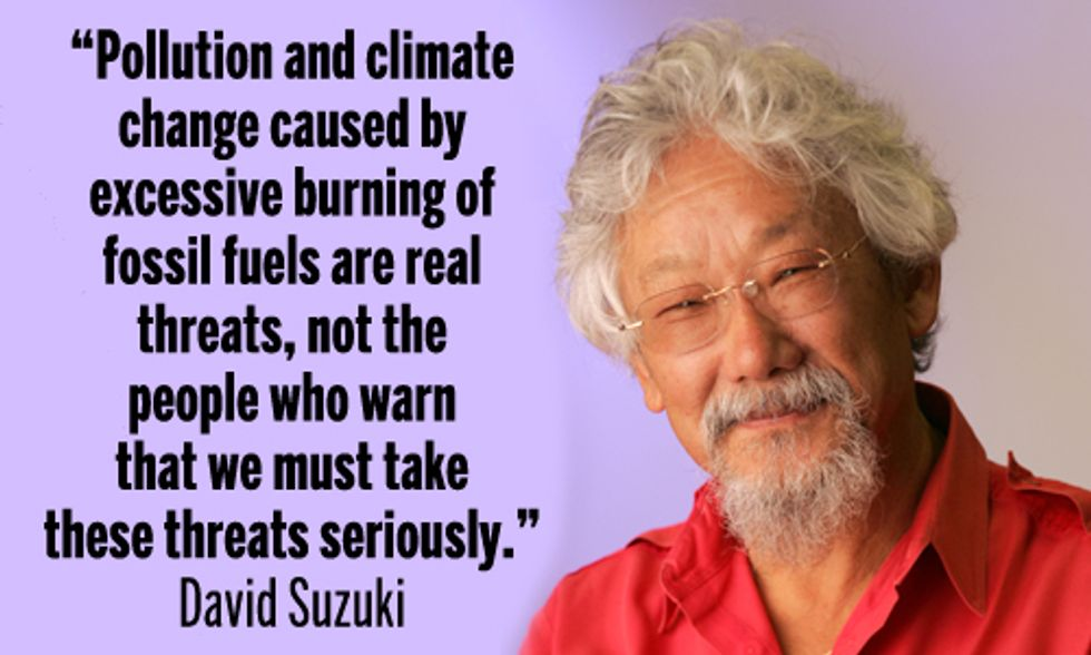 David Suzuki: Climate Change Is Real Threat, Not Activists Calling for Immediate Action