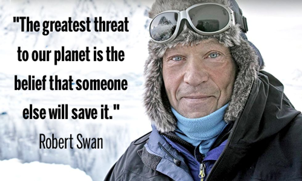 Robert Swan Leads Antarctic Expedition to Show Firsthand Effects of Climate Change