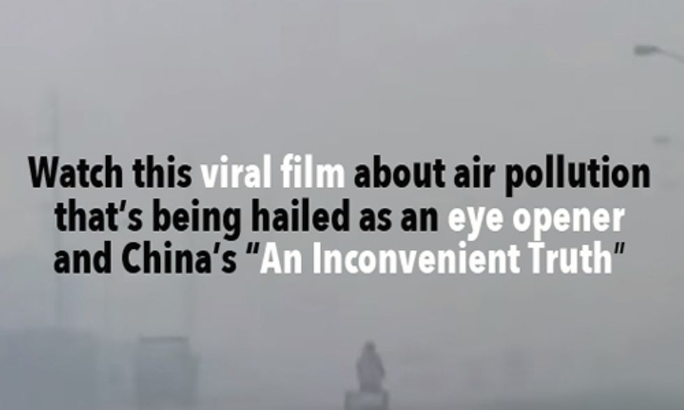 China Smog Documentary Goes Viral With 200 Million Views in 5 Days