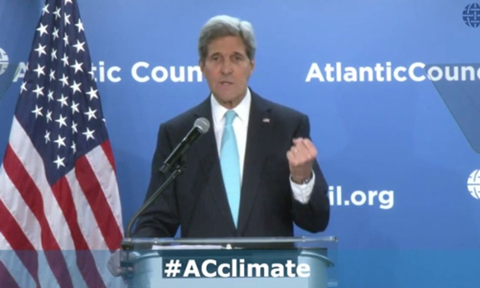 John Kerry: Not Addressing Climate Change Will Lead to 'Utter Catastrophe'