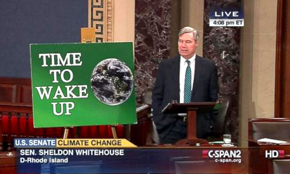 Sen. Whitehouse Calls Out ALEC for Role in Funding Climate Deniers