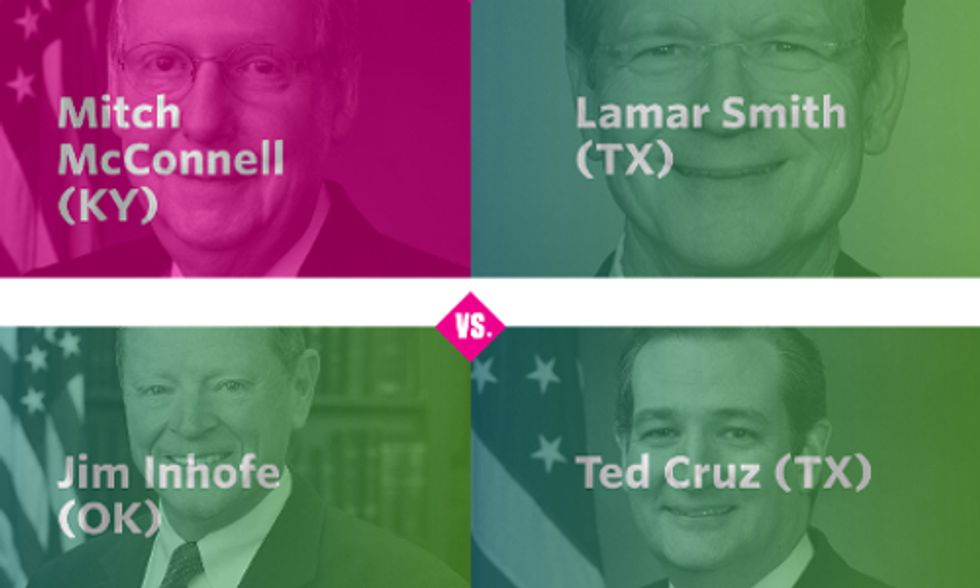 Have You Filled Out Your Bracket Yet? Which Climate Deniers Will Make It to the Final Four?