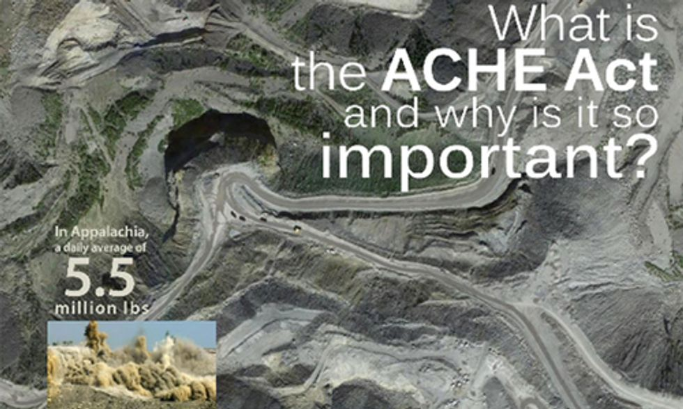 1,000 People Needed to End Mountaintop Removal