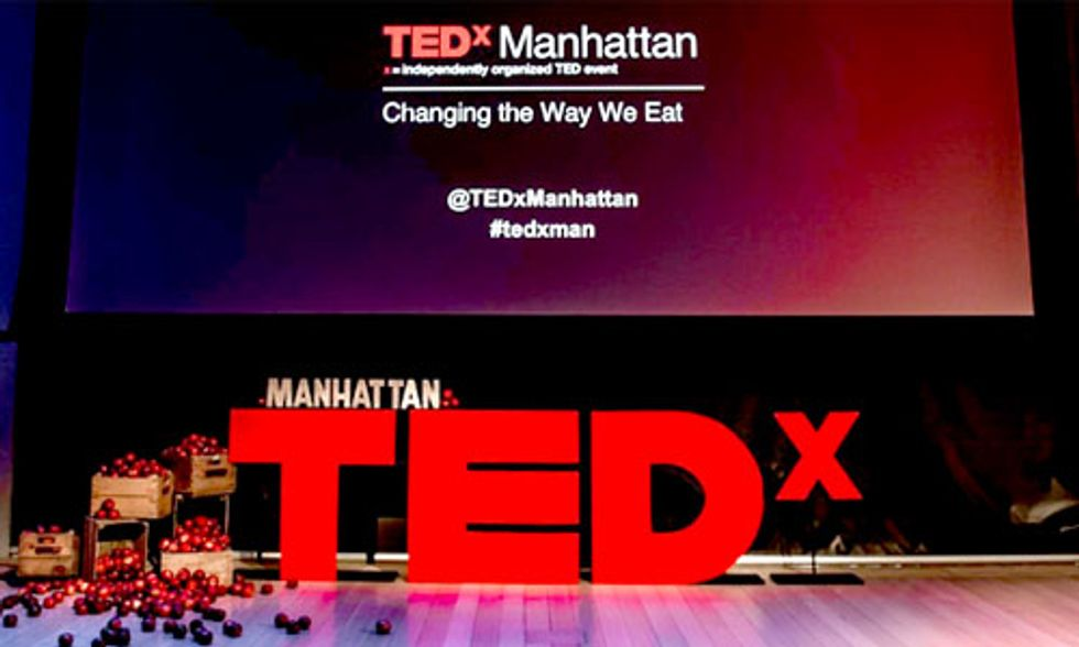 Must-See TEDxManhattan Video Features Bold Leaders 'Changing the Way We Eat'