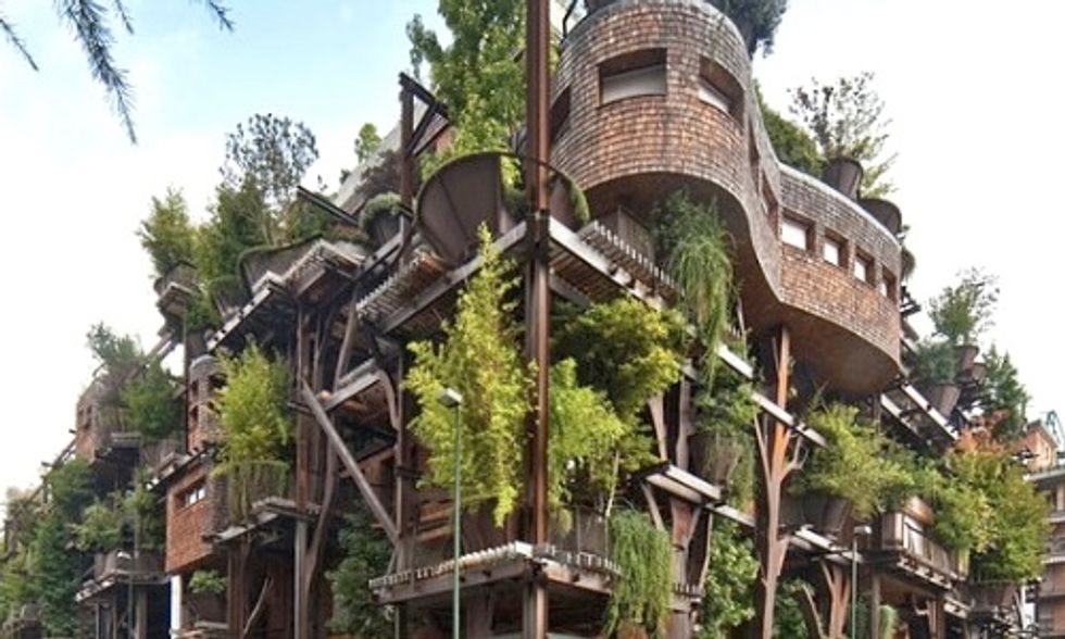 Epic Urban Treehouse Offers Glimpse Into Future Living