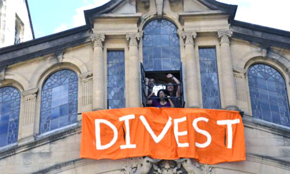 Oxford Alum Says, I Will 'Hand Back my Degree' If University Does Not Divest From Fossil Fuels