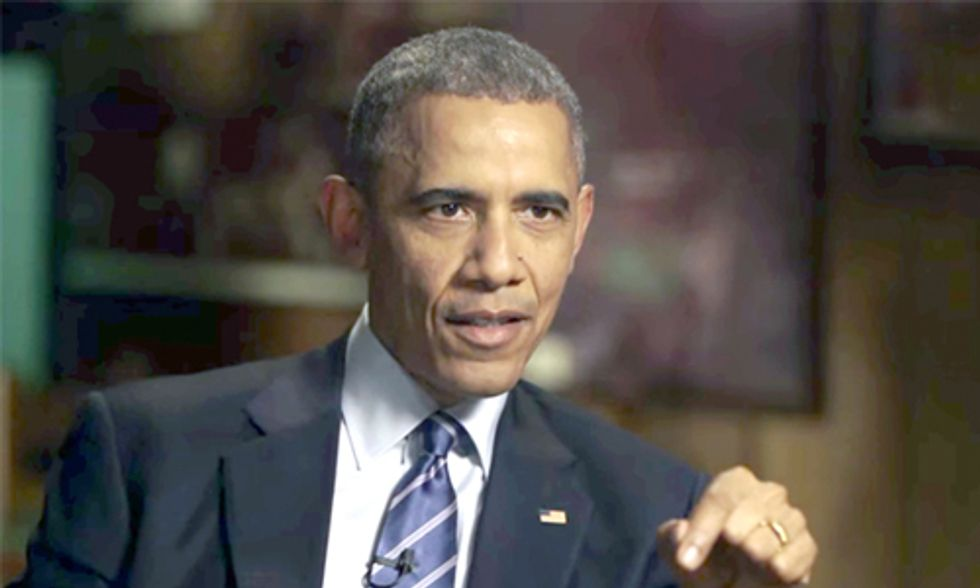 President Obama: Some in Congress Are 'Shills for the Fossil Fuel Industry'