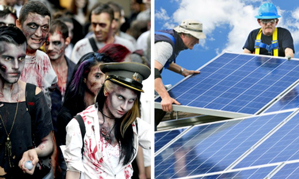 Zombie Attacks on Rooftop Solar