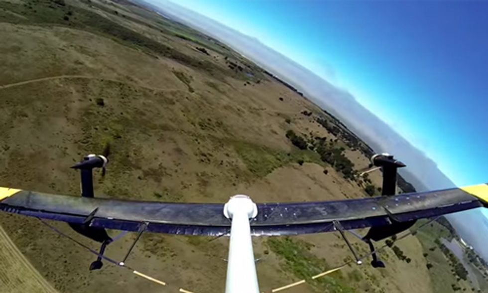 Google X Announces Revolutionary Flying Wind Turbines at SXSW