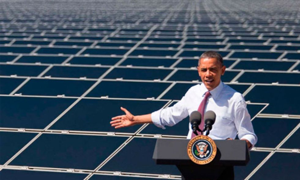 Obama Signs Executive Order to Cut Government Greenhouse Gas Emissions by 40 Percent