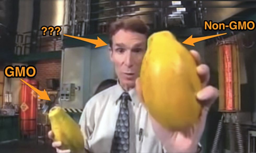 Is Bill Nye a Hired Gun for Monsanto?