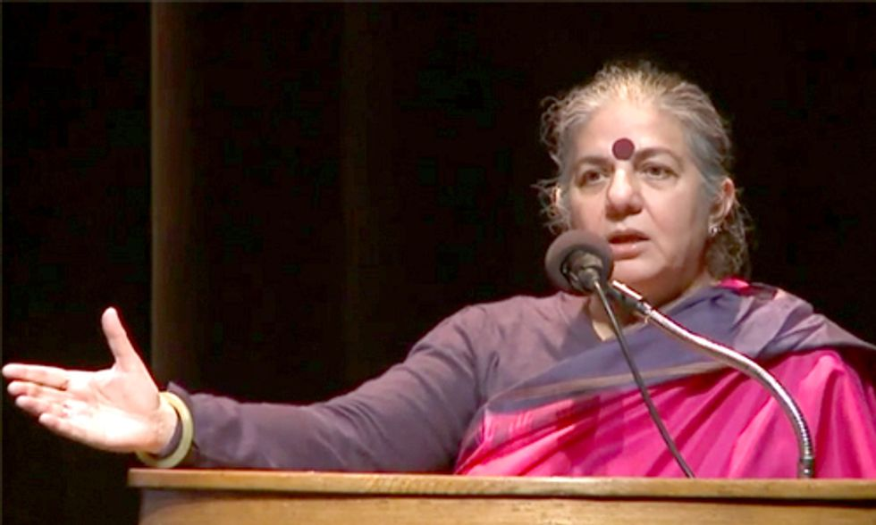 Vandana Shiva: 'Our Very Existence on This Planet Is Being Called Into Question'