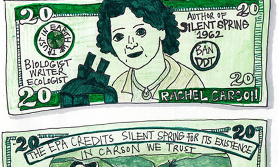 Will Rachel Carson Be the First Woman on the $20 Bill?
