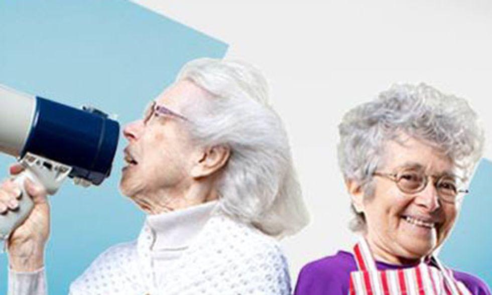 'Two Raging Grannies' Crash Wall Street Dinner