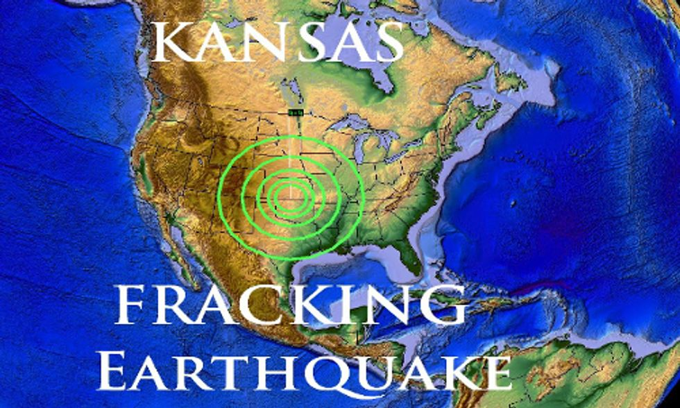 Staggering Rise in Fracking Earthquakes Triggers Kansas to Take Action