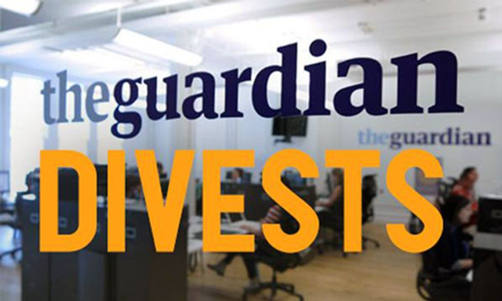 The Guardian Divests $1.2 Billion Fund From Fossil Fuels