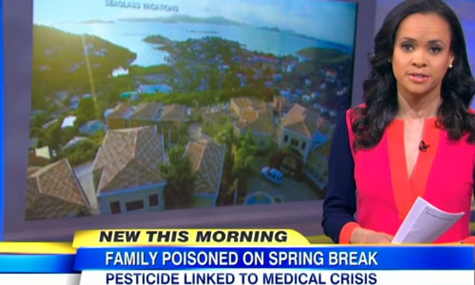 Family Poisoned on Spring Break, Turns Vacation Into a Nightmare