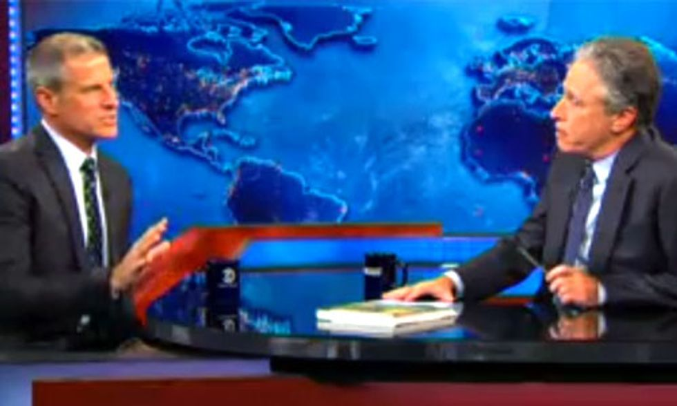 Jon Stewart: Going Vegan Is the Solution to So Many of the World's Problems