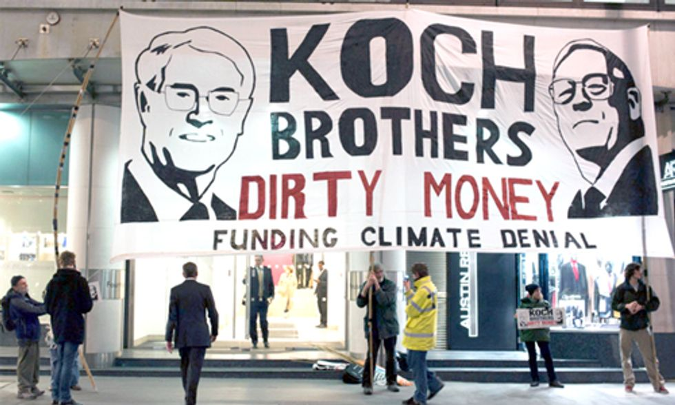 David Suzuki: Koch Brothers Continue to Oil the Machine of Climate Change Denial