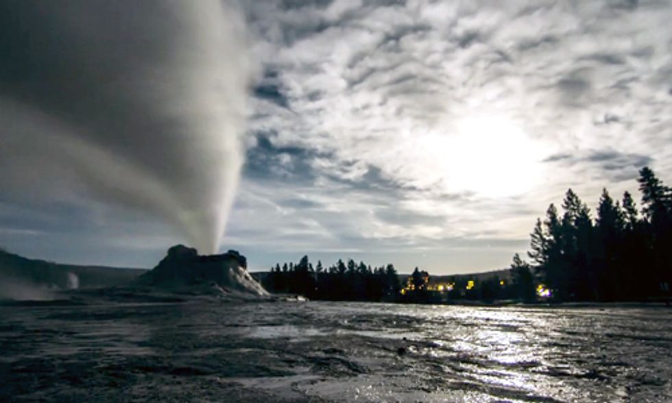 Watch This Stunning Time Lapse Video of Yellowstone by Moonlight