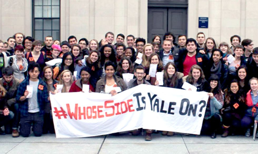 19 Students Arrested by Yale Police at Fossil Fuel Divestment Sit-In