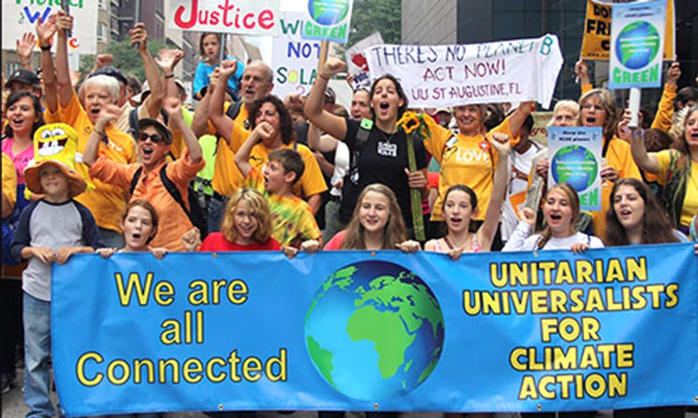 Unitarian Universalists: 'Climate Justice Is a Moral Issue ... It Is Our Obligation to Act'