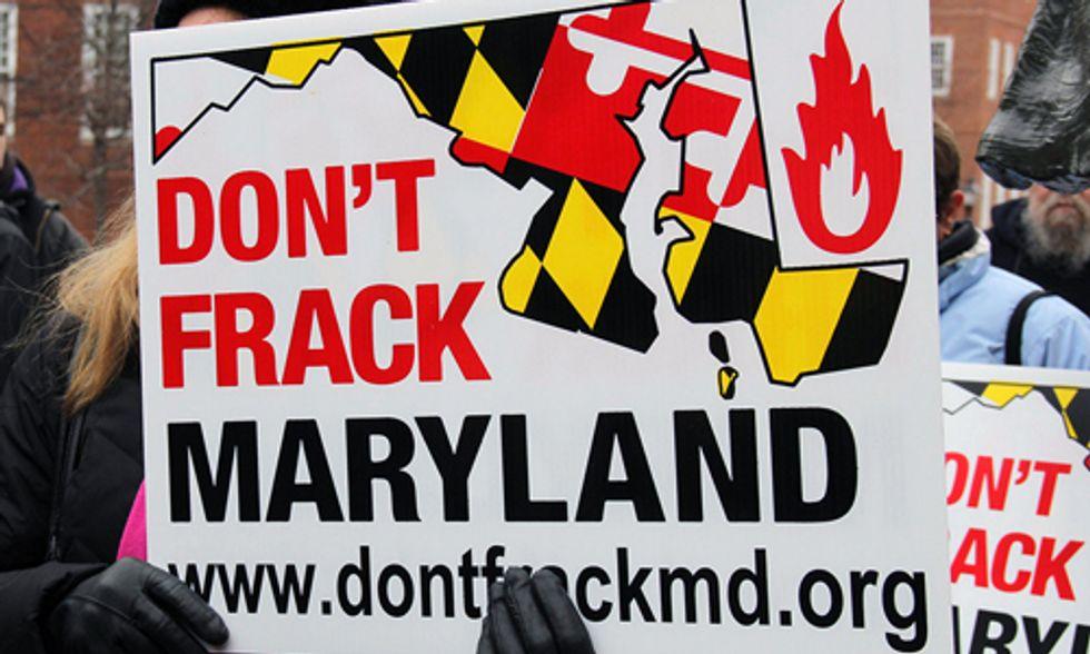 Maryland Passes 2.5 Year Fracking Ban