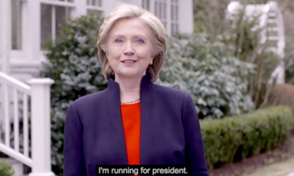 Hillary Clinton Announces 2016 Presidential Bid: Find Out Where She Stands on Climate