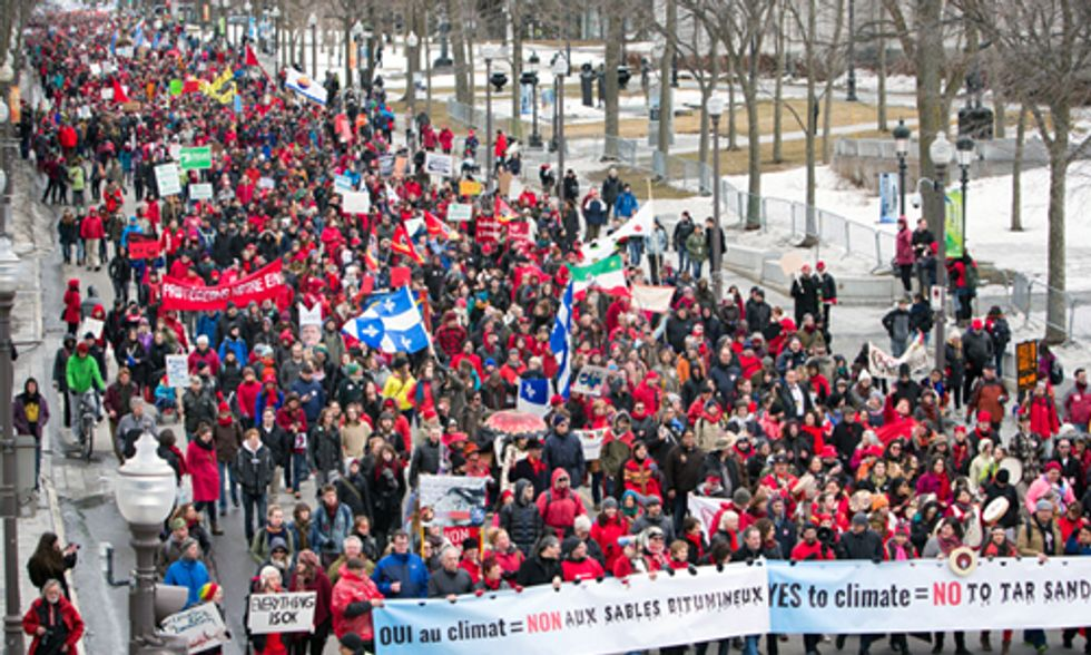 25,000 March in Canada Demanding Action on Climate Change