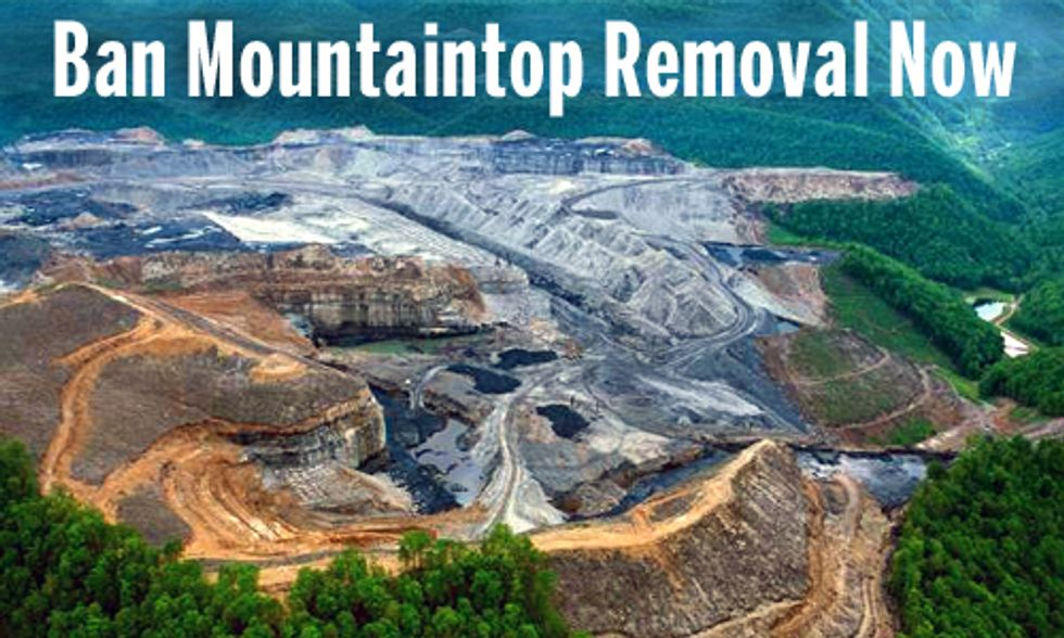 Join the Movement to Ban Mountaintop Removal Coal Mining