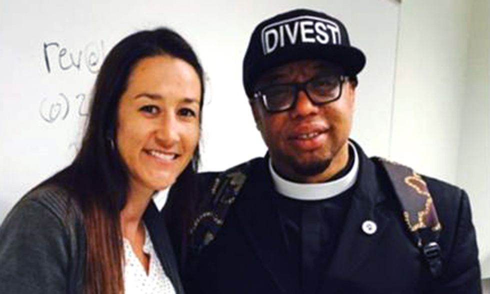 Reverend Yearwood: 'It Is Morally Wrong to Continue to Pollute and Corrupt Our Planet'