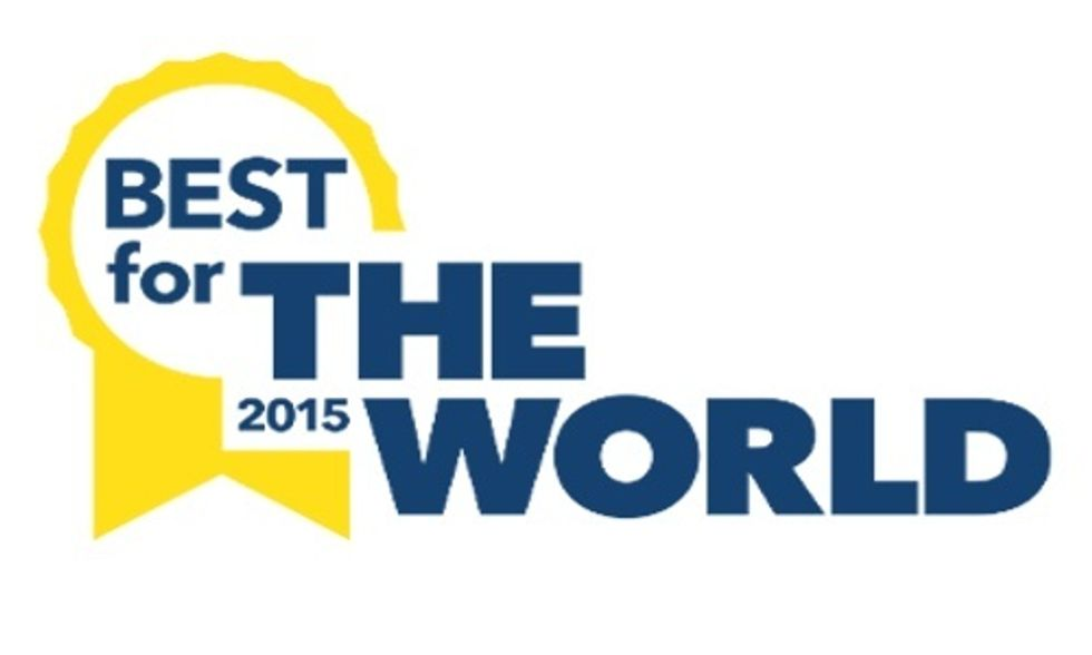 120 Companies Win 'Best for the World' Ranking