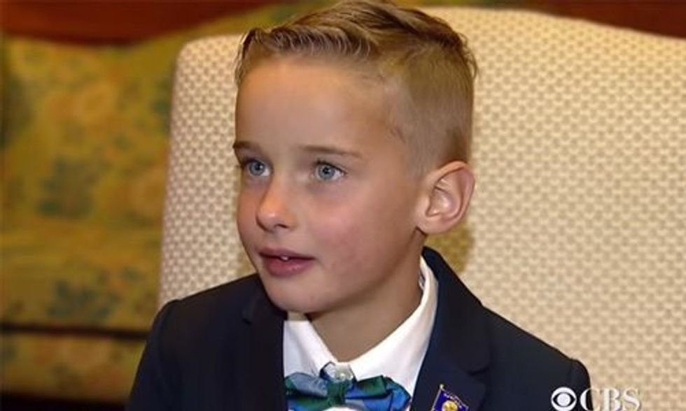 6 Year Old Gets President Obama's Attention With This Climate Change Video