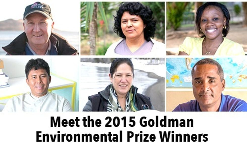 Meet 6 of the World's Top Environmental Heroes