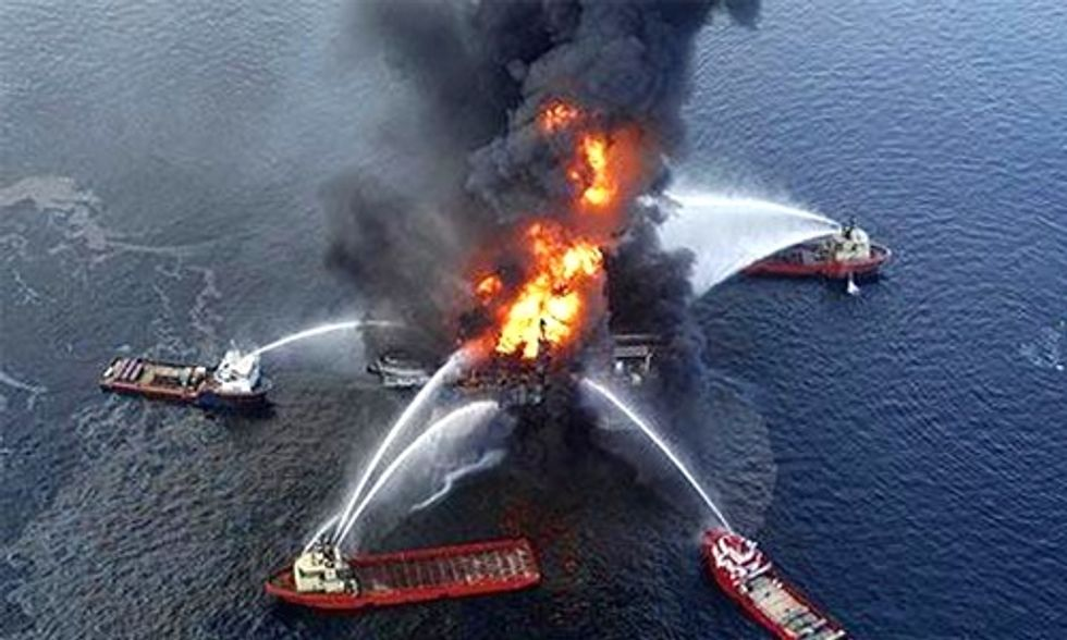 Michael Brune: BP Oil Disaster Was Not an Accident, It Was a Crime